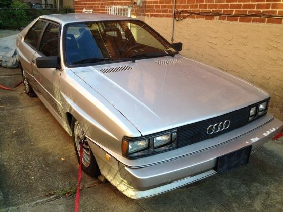 1983 Audi UR Quattro Coupe Manual-Sunroof