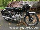 1954 Vincent Rapide Numbers-Matching Black Edition