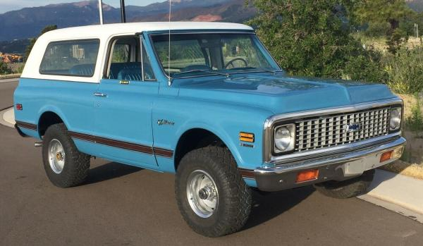 1972 Chevrolet K5 Blazer CST 4x4-Custom Sport Truck 350