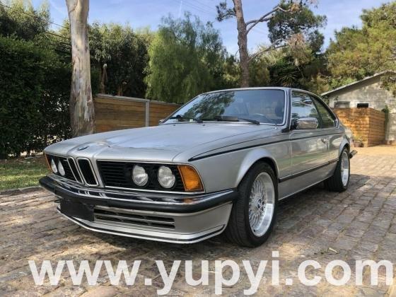 1982 BMW 6-Series E24 635csi European Model