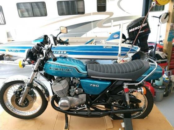 1974 Kawasaki H2 Mach IV Triple 750cc