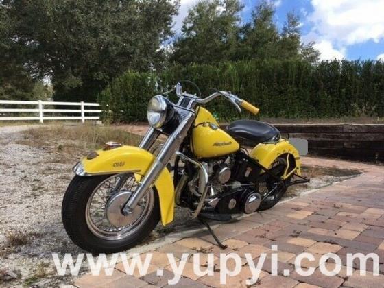 1954 Harley-Davidson FLE Super Clean