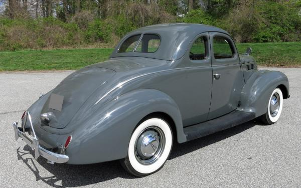 1938 Ford Deluxe Coupe Manual