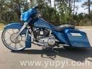 2012 Harley-Davidson Touring Pearl Blue