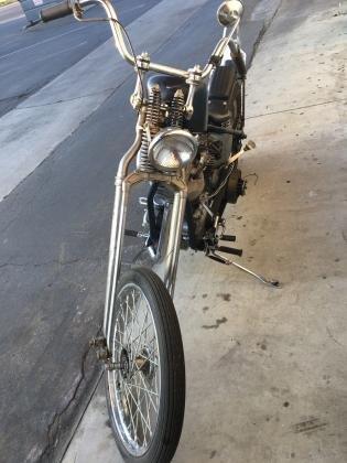 1963 Harley-Davidson Panhead Chopper Original Engine