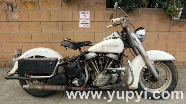 1954 Harley-Davidson FL Panhead Police 50th Anniversary