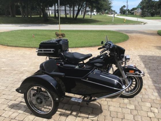 1978 Harley-Davidson FLH Shovelhead with Sidecar