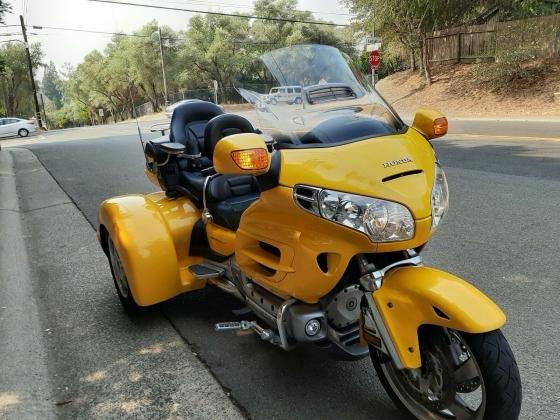 2003 Honda Goldwing 1800 Trike Low Miles