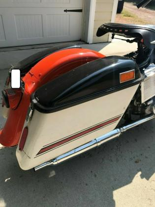 1967 Harley Electra-Glide FLH Police Style