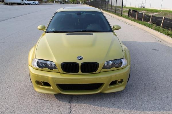 2002 BMW M3 Base Coupe E46 6Speed
